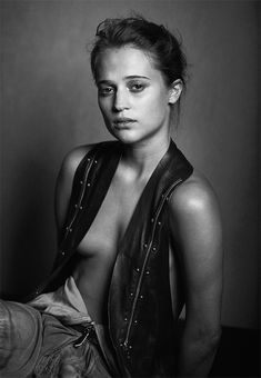 Alicia Vikander photographed by Peter Lindbergh