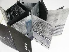 disordine costruttivo (Constructive Disorder) by Eleonora Cumer | 2 accordion book 20x12cm |  libri a fisarmonica dipinti componibili in un unico libro