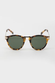 Karen Walker - Vintage Demi Helter Skelter Sunglasses via @shopacrimony