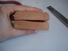Polymer Clay Wood Grain / Holzoptik Tutorial by Paroledepart