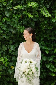 Love the sleeves on this gown - Black Barn Vineyard New Zealand Wedding