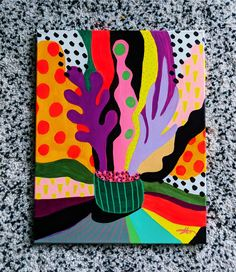 Dawn in the Desert iPhone Art Inspo, Painting Inspiration, Mini Canvas Art, Flower Art, Watercolor Art, Pop Art, Art Projects, Art Drawings, Illustration Art