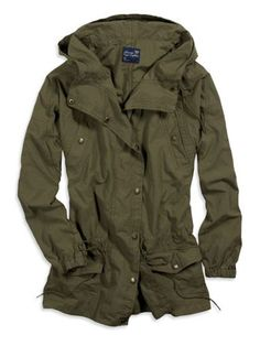 green utility coat!!! On its way!