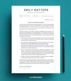 How To Quickly Write a Killer Cover Letter   Resume   Pinterest ...