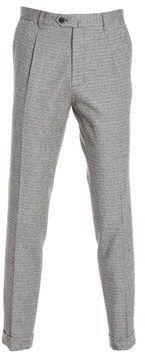 BRIGLIA 1949 Briglia 1949 Men's Grey Cotton Pants.