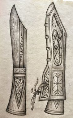 Explore Cedarlore Forge's photos on Flickr. Cedarlore Forge has uploaded 1863 photos to Flickr. Celtic Symbols, Celtic Art, Cool Knives, Knives And Swords, Knife Drawing, Blacksmithing Knives, Knife Patterns, Wood Knife, Dagger Knife