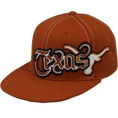 Texas Longhorns Flat Brim Hat