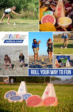 If you are looking for a way to get your kids involved in family fun without electronic screens, check out the Rollors backyard game. Combining the classic lawn games of horseshoes, bocce ball, and outdoor bowling, it is a fun new game of luck and skill. Outdoor Bowling, Outdoor Yard Games, Outdoor Venues, Backyard Games, Amazing Gardens, Beautiful Gardens, Fun New Games, Lawn Games, Diy Garden Decor