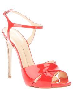 Giuseppe Zanotti patent leather sandal [CELE15001] - $219.00 : Discounted Christian Louboutin,Jimmy Choo,Valentino Shoes Online store