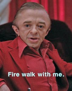 The Man from Another Place (played by Michael J. Anderson) / Twin Peaks