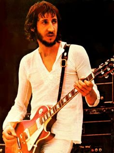 Pete Townshend he's definitely a legend. Rock Roll, John Entwistle, Pete Townshend, Roger Daltrey, Live Rock, My Generation, British Invasion, Rock Legends, Him Band