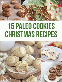 15 of the Best Paleo Christmas Cookies Recipes #paleo #christmas #cookies