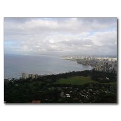 USA - Hawaii - Honolulu - Diamond Head