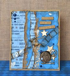 papirdesign-blogg Hand Stamped Cards, Masculine Cards, Cardmaking, Layouts, Boys, Frame, How To Make, Design, Young Boys