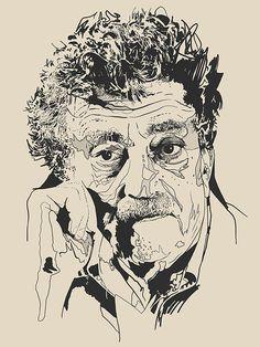David Waters - People - Kurt Vonnegut
