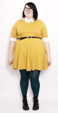 Plus Size Street Style - Meet Kirsty from Fatty Unbound !