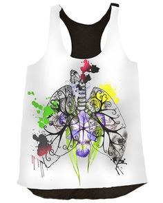 Lungs Top by Nadia Dennan