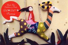 Handmade dolls by Ryoko Ishii