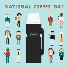 Everyone's favorite day is tomorrow! How will you be celebrating National Coffee Day? (Credit: @alyshadawn)
