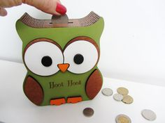 Personalized-wooden-owl-money-box-coin