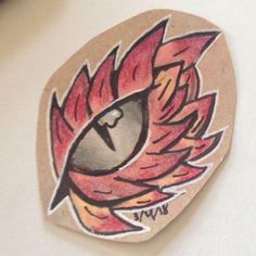 Dragon Eye Drawing, Painted Rocks, Art Drawings, Stuff Stuff, Doodles, Rock Painting, Donut Tower, Art Paintings, Doodle Art