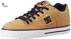 DC Shoes Pure Tx Se, Sneakers Basses homme, Marron (Tan), 44 EU - Chaussures dc shoes (*Partner-Link)