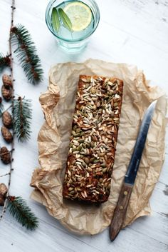 Millet bread with almonds and carrots. Sub out the honey to veganise. Babka Recipe, Gluten Free Baking, Gluten Free Recipes, My Favorite Food, Favorite Recipes, Sugar Free Treats, Avocado, Eat Happy, Full Bath