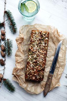Jaglany chlebek z migdałami i marchewką. Bezglutenowy! | gotuj zdrowo!