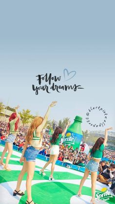 Yayyyy this is such a dream Sprite+BLACKPINK is jeloussss V Wings, Lisa Blackpink Wallpaper, Black Pink Kpop, Dream Pop, Blackpink Photos, Blackpink And Bts, Jennie Blackpink, Park Chaeyoung, Blackpink Jisoo