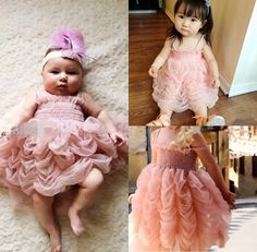 >> Click to Buy << Girls Cute Tutu Dresses  Baby Girl Pink Princess Party Sleeveless Strap Ruffle Summer Bubble Tutu Dress 1-6Y #Affiliate