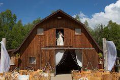 A Rustic, Vintage Wedding at Gloryview Farm in Wasilla, Alaska Wasilla Alaska, Heart Party, Real Weddings, Wedding Reception, Wedding Planning, To Go, Cabin, Rustic, House Styles