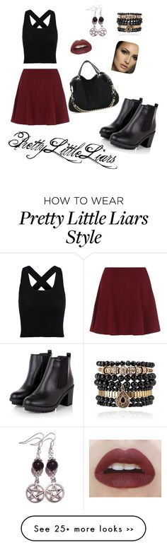 """Pretty Little Liars Aria Montgomery inspired"" by chxlseaa on Polyvore featuring Samantha Wills"