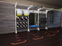 Get inspired! See conceptual Gym Rax configurations and our featured systems in action!