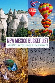 All the places in New Mexico I want to visit. A full bucket list. Check it out!