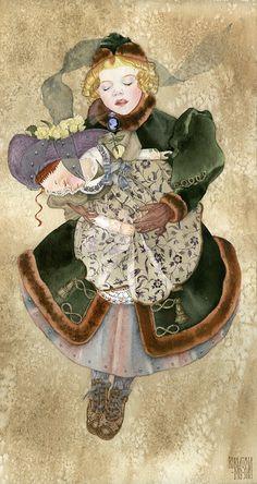 Сообщество иллюстраторов / Иллюстрации / Курбатова Маша / Голубая камея