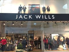 Jack Wills opened a new store in Silverburn, Glasgow in December 2016, taking up 3,500 square feet of retail space.  #jackwills #glasgow #thelocationgroup #shopopening #storeopening #elocations
