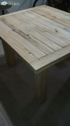 Beautiful Sturdy-legged Pallet Coffee Table Pallet Coffee Tables