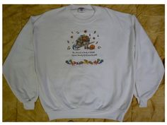 Ladies HARVEST BOUNTY Sweat Shirt Size XL