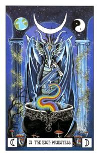 May 2 Tarot Card: The High Priestess! (Dragon deck) Lean on your dreams and intuitions now, instead of your conscious mind