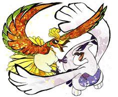 Pokemon - Ho-oh & Lugia