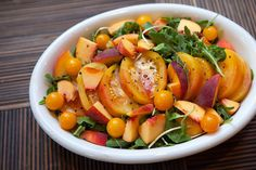 Late Summer Market Salad with Peaches | Modern Reston