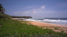 Green beach
