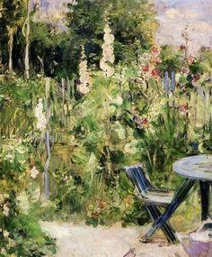 Berthe Morisot (1841-1895). The Rose Garden