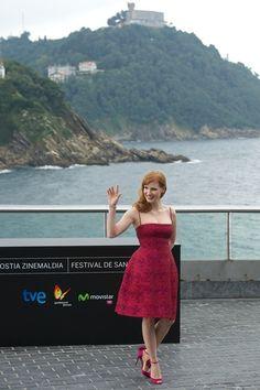 Jessica Chastain Photos: 62nd San Sebastian Film Festival: 'The Dissapearance of Eleanor Rigby' Photocall