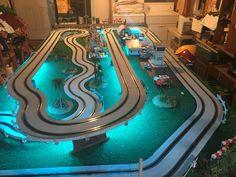 Slot Car Racing, Slot Car Tracks, Carrera Slot Cars, Poker Table, Toys For Boys, Dreams, Projects, Log Projects, Blue Prints