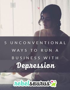 Starting a business is hard. Starting a business while you also have chronic depression? Is even more difficult. But it's not impossible. Here are some tips to make life easier when you're running a business with depression.