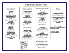 22 Exciting Wedding Cake Flavor Ideas | Wedding cake flavors ...
