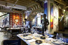 BIBO RESTAURANT, HONG KONG | Best Art Restaurants Around the World in limited edition | http://designlimitededition.com