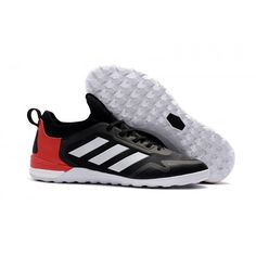 Adidas ACE Tango 17 Purecontrol IC Football Boots Black Red White Soccer  Gear d7b0aae9369