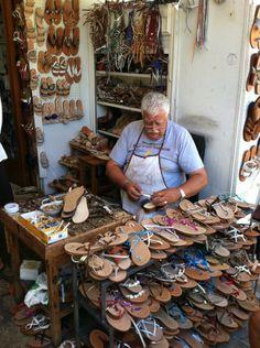love handmade Italian sandals :-)